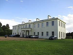 William Fortescue, 1st Earl of Clermont - Clermont Hall in the parish of Little Cressingham, Norfolk, originally built as a shooting lodge by the 1st Earl of Clermont and extended by his nephew Viscount Clermont
