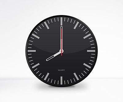 Clock - Dark 8.00am Graphics by Trisorn Triboon.jpg