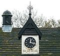 Clock and chimney, Dudwell Lane (8162230534).jpg