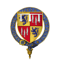 "Coat of Arms of Sir Henry ""Hotspur"" Percy, KG.png"