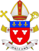 Coat of Arms of diocese of Orléans.png