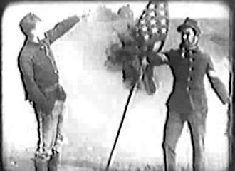 Cohen Saves the Flag - Scene from the film
