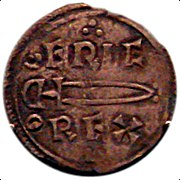 Coin of Eric Bloodaxe Norse king of York 952 954.jpg