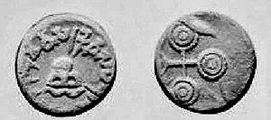 Vasishthiputra Pulumavi - Image: Coin of Pulumavi (14782800622)