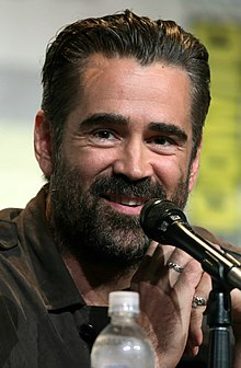 Colin Farrel - the sexy, desirable,  actor  with Irish roots in 2020