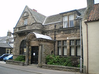 Colinsburgh - Image: Colinsburgh Library geograph.org.uk 1337259