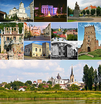 Lutsk - Image: Collage Lutsk