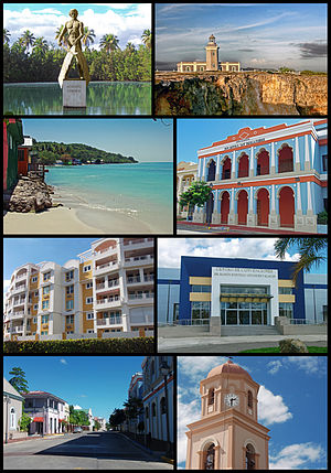 Collage of Cabo Rojo