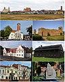 Collage of main sights of Koło 01.jpg