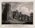 College of Lincluden, Scotland. Line engraving by W. Byrne a Wellcome V0012835.jpg