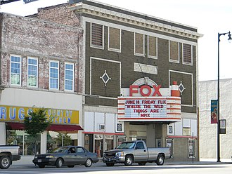 Pittsburg, Kansas - Colonial Fox Theatre (2010)
