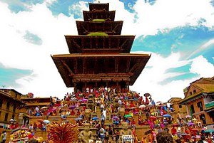 Nyatapola - Image: Colors of Bhaktapur