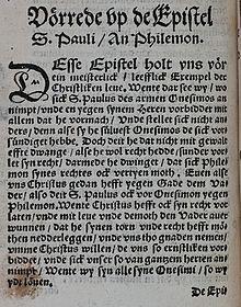 Epistola A Filemon Wikipedia La Enciclopedia Libre