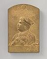 Commemorating the rulers of the Baroda State, Khanderao, Gaekwar, (1857–71) (one of a set of eight) MET DP-180-132.jpg