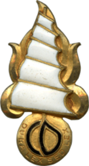 Disciplinary Company of the Foreign Regiments in the Far East - Company Insignia
