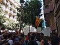 Concentració davant la seu CUP de Barcelona contra l'assalt policial - 2.jpg