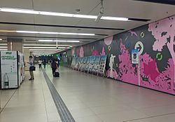 Concourse of Shilipu Station (20160909092540).jpg