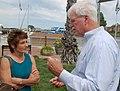 Congressman George Miller and Christine Stoner-Mertz (7729420960).jpg