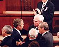 Congressman Jimmy Duncan with President George W. Bush Before Address to Joint Session of Congress.jpg