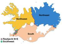 Constituencies Iceland