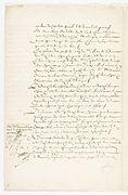Contrat de mariage entre Molière et Armande Béjart, 23 Janvier 1662. Page 2 - Archives Nationales - ET-XLII-152 (RES-386).JPG