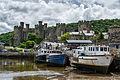 Conwy Castle (Explore) (7462399906).jpg