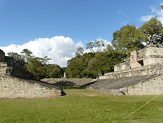 Copán - The West Court of Copán