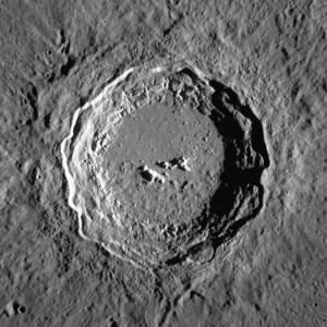 Copernicus (lunar crater) - Mosaic of Lunar Reconnaissance Orbiter images