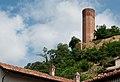 Corneliano d'Alba (Piemonte, Italia), torre decagonale - panoramio.jpg