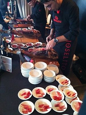 Cárnicas Joselito - Cut of Iberian ham