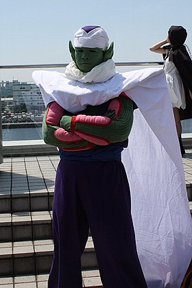 Cosplay de Piccolo.