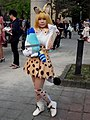 Cosplayer of Serval, Kemono Friends at CWT48 20180303a.jpg