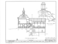 County Courthouse, State and Huntington Streets, New London, New London County, CT HABS CONN,6-NEWLO,2- (sheet 4 of 9).png