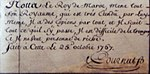 Cournut handwriting and signature 25 October 1767.jpg