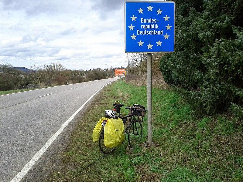 Court passage (1km) en Allemagne!