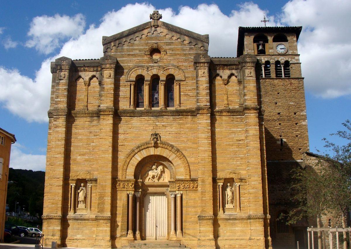 Glise saint maurice de couzon au mont d 39 or wikip dia - Mont d or four ...