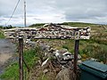 Crackaig - sign at road end - geograph.org.uk - 1330806.jpg