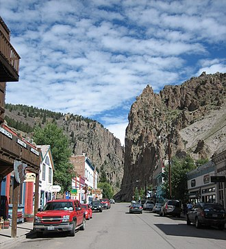 Creede, Colorado - Downtown Creede