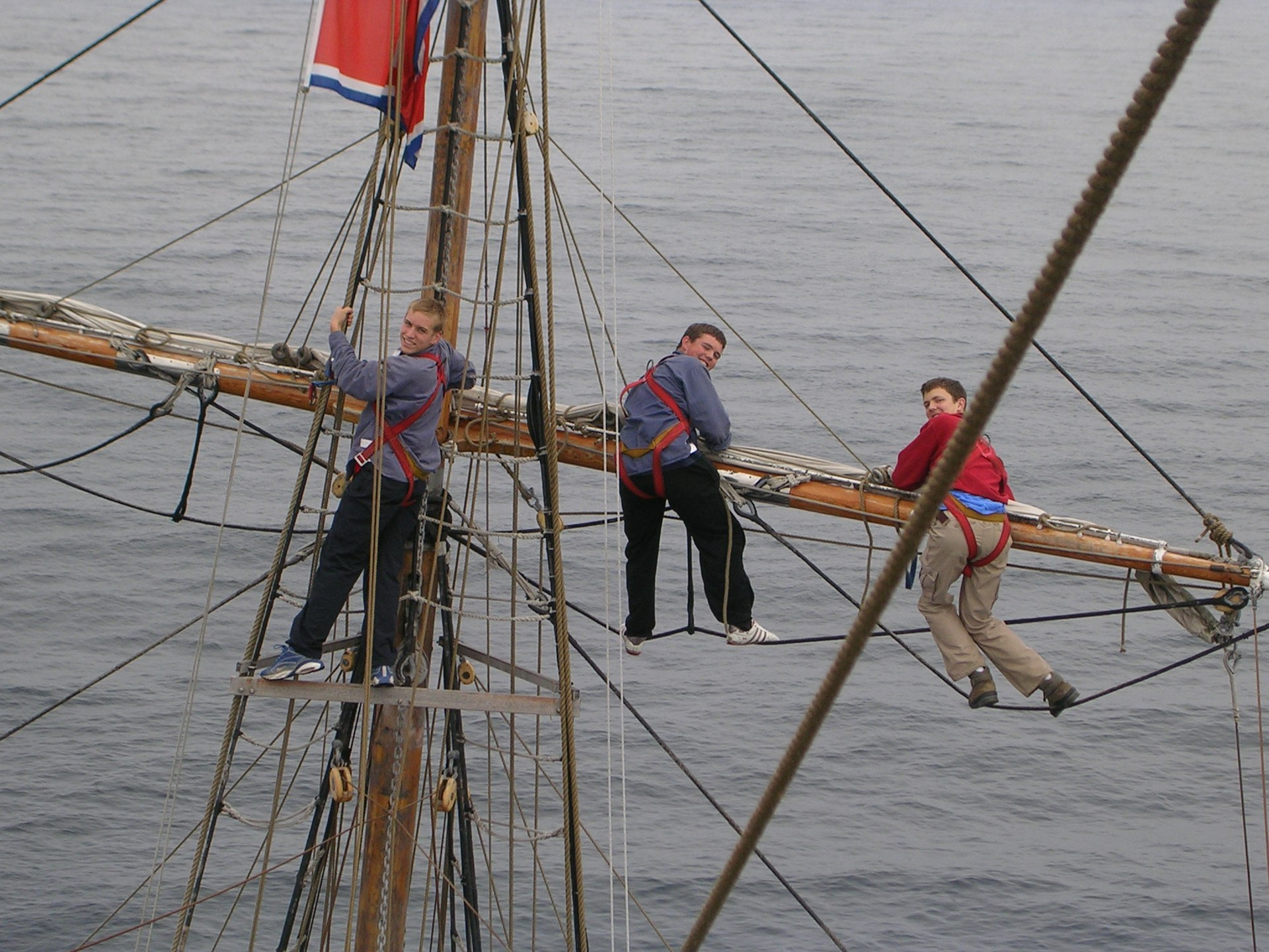 Yard (sailing) - Wikipedia