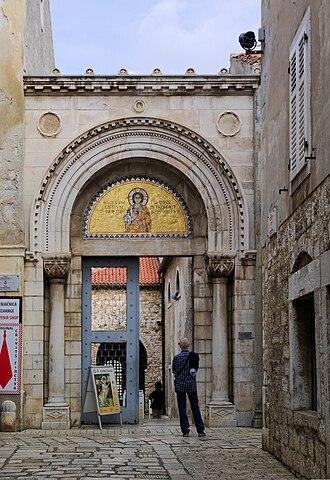 Euphrasian Basilica - Basilica entrance.
