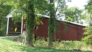Crooks Covered Bridge place in Indiana listed on National Register of Historic Places