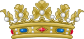 Crown of a Duke of France (variant).svg