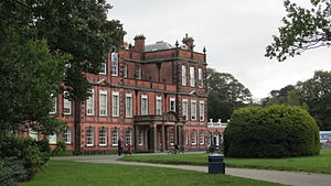 Molyneux - Croxteth Hall, Home of the Earls of Sefton branch of the Molyneux family.