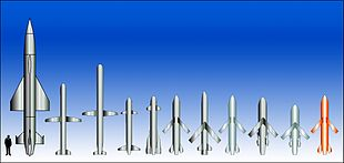 Confronto tra diversi missili cruise prodotti. Da sinistra a destra: AS-4 • AS-15 • SS-N-21 • Torgos • Mupsow • APACHE • Popeye Turbo • Storm Shadow • KEPD-350 • KEPD-150 • SCALP-EG