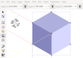 Cube in Standard Isometry with 3D Box Tool in Inkscape.png