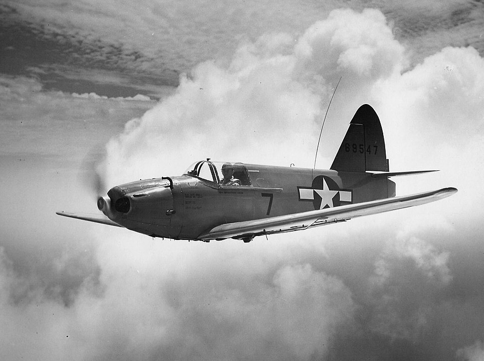 Culver TD2C-1 drone in flight c1945