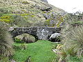 Cumbe Mayo Archaeological site - bridge.jpg