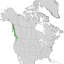 Cupressus nootkatensis range map 1.png