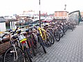 Cycle rack on Town Pier - geograph.org.uk - 1720364.jpg