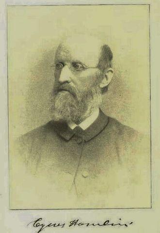 Cyrus Hamlin - Cyrus Hamlin, co-founder of Robert College